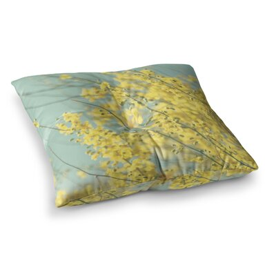 Sylvia Coomes Blooms Square Floor Pillow Size: 26 x 26