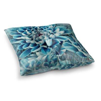 Susan Sanders Flower Love Square Floor Pillow Size: 23 x 23