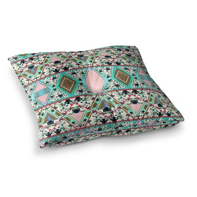 Vasare Nar Deco Hippie Square Floor Pillow Size: 26 x 26