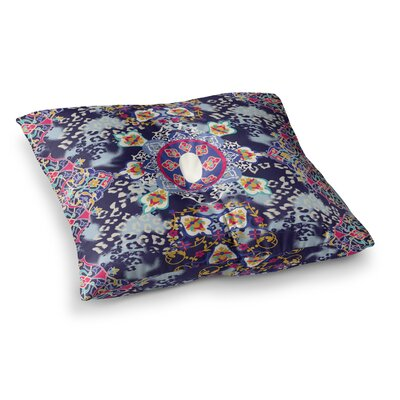 Victoria Krupp Eastern Medallion Vector Square Floor Pillow Size: 23 x 23