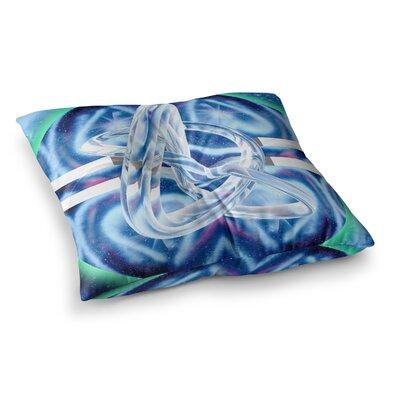 Infinite Spray Art New Era Square Floor Pillow Size: 23 x 23