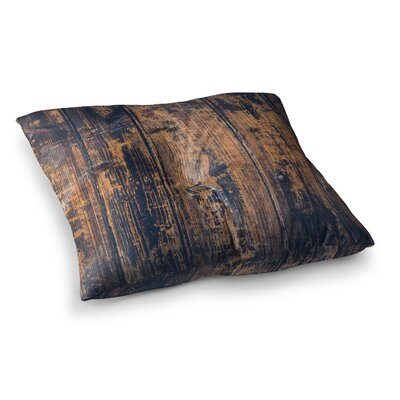 Susan Sanders Barn Rustic Square Floor Pillow Size: 23 x 23