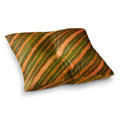 Richard Casillas Ferns Square Floor Pillow Size: 26 x 26