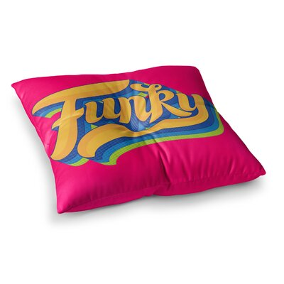 Roberlan Funky Square Floor Pillow Size: 23 x 23