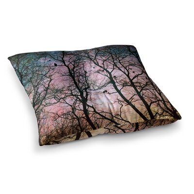 Sylvia Cook The Birds Square Floor Pillow Size: 23 x 23