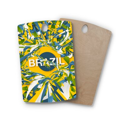 Danny Ivan Birchwood Brazil World Cup Cutting Board ESRN4074 41759600