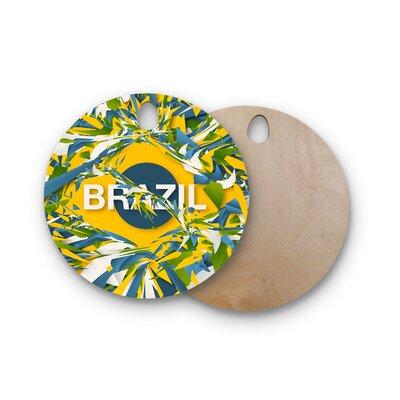 Danny Ivan Birchwood Brazil World Cup Cutting Board ESRN4074 41759601