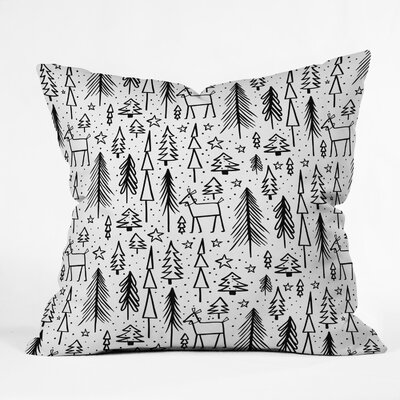 Heather Dutton Winter Wonderland Throw Pillow Size: 16 x 16
