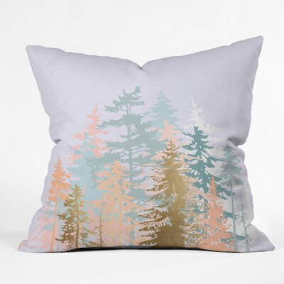 Iveta Abolina Blush Forest Euro Pillow