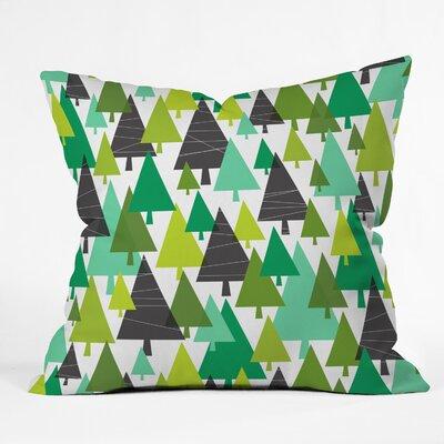 Heather Dutton Winter Woods Euro Pillow