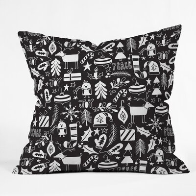 Heather Dutton Peace and Joy Euro Pillow