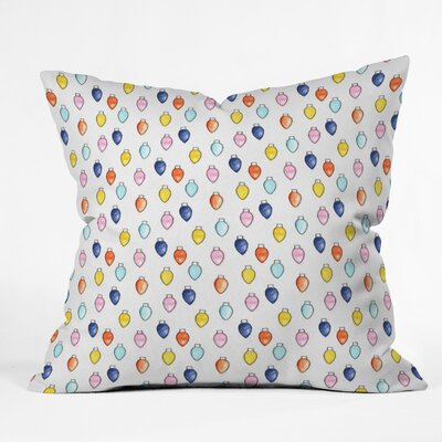 Little Arrow Co Watercolor Holiday Lights Euro Pillow