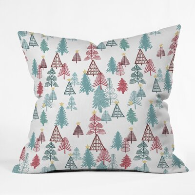 Dash and Ash Me Oh My Trees Euro Pillow