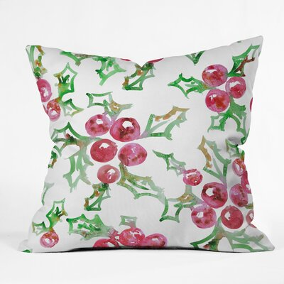Dash and Ash All I Want For Christmas Throw Pillow Size: 18 x 18