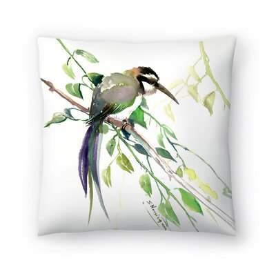 Suren Nersisyan Bee Eater Throw Pillow Size: 18 x 18