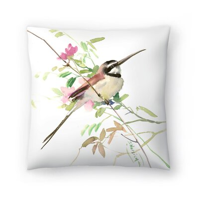 Suren Nersisyan Bee Eater 3 Throw Pillow Size: 20 x 20