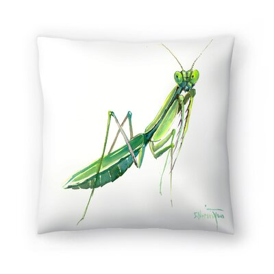 Suren Nersisyan Raying Mantis Throw Pillow Size: 14 x 14
