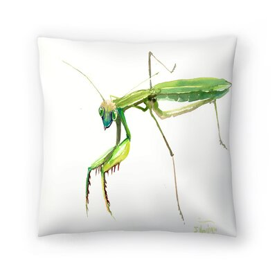 Suren Nersisyan Raying Mantis 2 Throw Pillow Size: 20 x 20