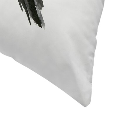 Suren Nersisyan Crow 4 Throw Pillow Size: 16 x 16