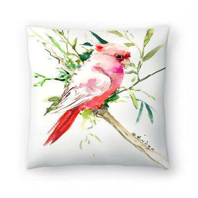 Suren Nersisyan Cockatoo 1 Throw Pillow Size: 14 x 14