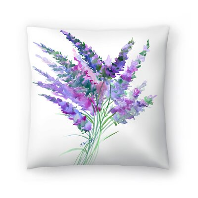 Suren Nersisyan Flowers Throw Pillow Size: 18 x 18
