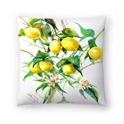 Suren Nersisyan Lemon Tree 3 Throw Pillow Size: 20 x 20