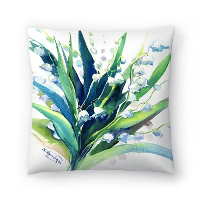 Suren Nersisyan Lilies of the Valley Suren 2 Throw Pillow Size: 16 x 16