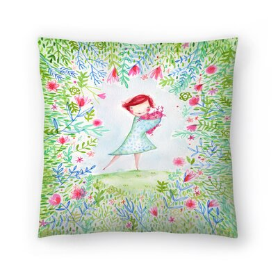 Paula Mills Hearts are Made for Love Throw Pillow Size: 18 x 18