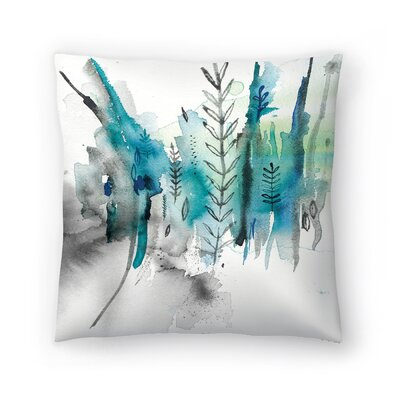 Paula Mills Nature No2 Throw Pillow Size: 14 x 14