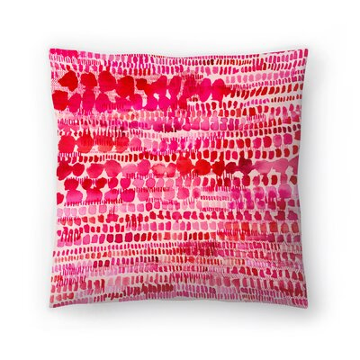 Paula Mills Water Color Patterns Throw Pillow Size: 20