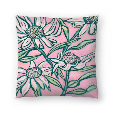 Paula Mills Waratah Painting Throw Pillow Size: 18 x 18