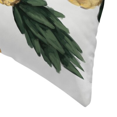 Jetty Printables A Pineapple a Day Keeps the Worries Away Throw Pillow Size: 14 x 14