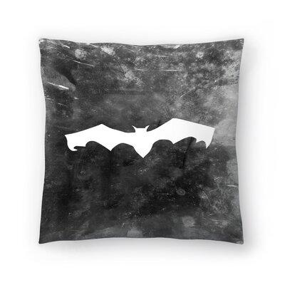Jetty Printables Bat Halloween Throw Pillow Size: 14 x 14