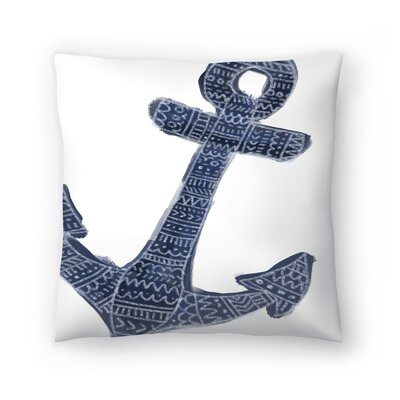 Jetty Printables Tribal Anchor Wall Art Throw Pillow Size: 20 x 20