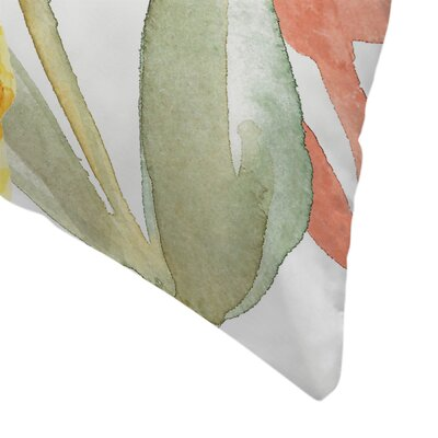 Jetty Printables Hello Autumn Botanical Throw Pillow Size: 16 x 16