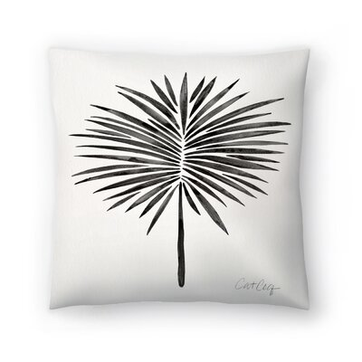 Cat Coquillette Fan Palm Throw Pillow Size: 20 x 20