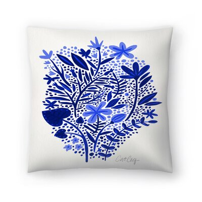 Cat Coquillette Garden Throw Pillow Size: 16 x 16