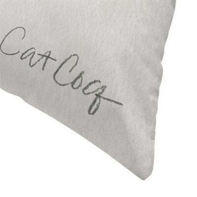Cat Coquillette Mushrooms Throw Pillow Size: 18 x 18