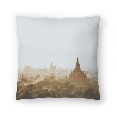 Luke Gram Bagan Myanmar Throw Pillow Size: 14 x 14