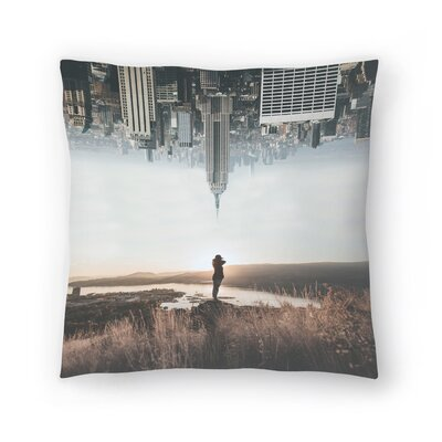 Luke Gram Between Earth and Sky Throw Pillow Size: 14 x 14