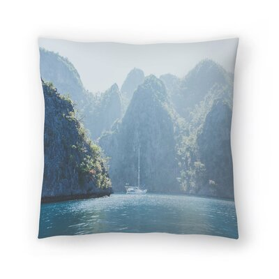 Luke Gram Coron Philippines Throw Pillow Size: 20 x 20