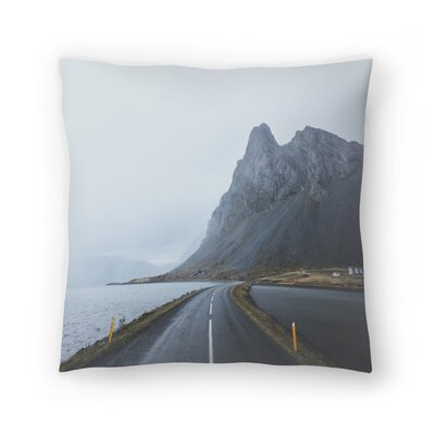 Luke Gram Eastern Region Iceland Ii Throw Pillow Size: 18 x 18