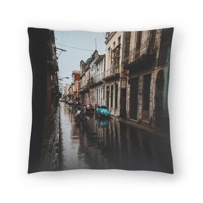 Luke Gram Havana Cuba Throw Pillow Size: 14 x 14