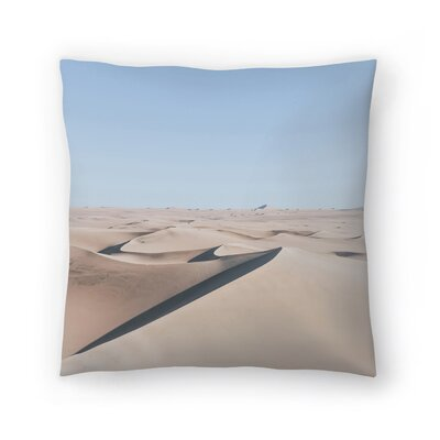 Luke Gram Huacachina Peru Throw Pillow Size: 18 x 18