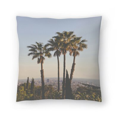 Luke Gram La Ii Throw Pillow Size: 18 x 18