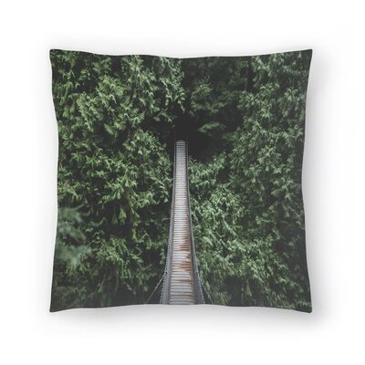 Luke Gram Lynn Valley Vancouver Ii Throw Pillow Size: 18 x 18
