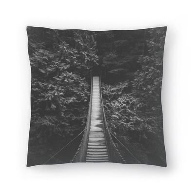 Luke Gram Lynn Valley Vancouver Throw Pillow Size: 18 x 18