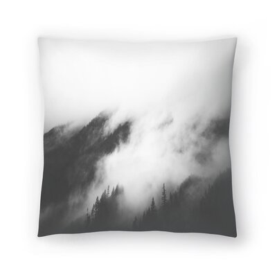 Luke Gram Rolling Fog I Throw Pillow Size: 16 x 16