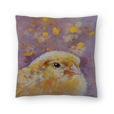 Michael Creese Chick Throw Pillow Size: 20 x 20