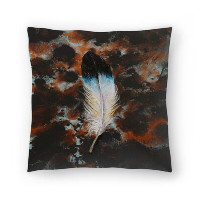 Michael Creese Feather Throw Pillow Size: 14 x 14